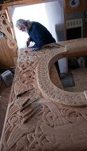 wood carving home