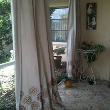 Outdoor Canvas Curtains The 25 Best Drop Cloth Curtains Outdoor Ideas On Pinterest