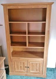 Bush Bookcases Bookcase Light Wood Bookshelves Light Oak Bookcase With Drawers