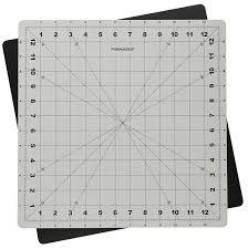 amazon com fiskars 14x14 inch self healing rotating cutting mat