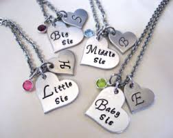 baby personalized jewelry necklace set etsy