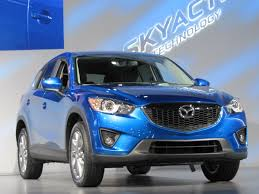 mazda crossover 2013 mazda cx 5 compact crossover makes north american debut at