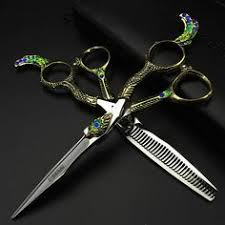 5 5 inch hair cutting scissors left right hand professional barber
