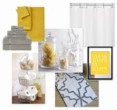 black and yellow bathroom ideas yellow and gray bathroom home decor gallery
