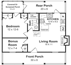 plan 21 108 600 sq ft 30 wide 32 deep small houses house plans