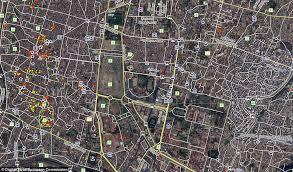 satellite maps 2015 nepal earthquake satellite images reveal how area around kathmandu