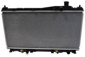unishop denso 2213220 radiator fits 2001 2005 honda civic m1 den 2213220