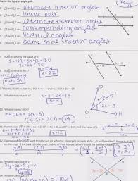 geometry worksheets and answers worksheets