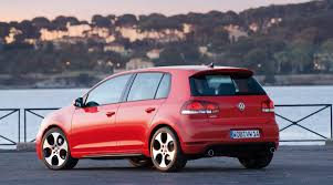 red volkswagen golf volkswagen gti a history in pictures car and driver blog