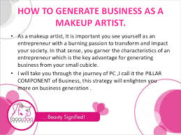 makeup for makeup artists how to generate business as a makeup artist