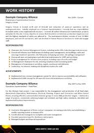 Functional Resume Templates Resume Examples Mining Resume Sample Mining Resume Template With