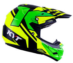yellow motocross helmets kyt cross over ktime motocross helmet yellow green motorcycle