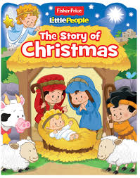 fisher price little people the story of christmas book by