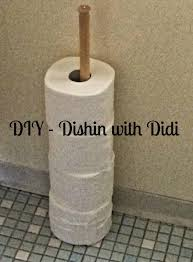 dishin with didi diy toilet paper holder something new for me
