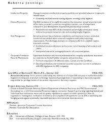 Resume Example 47 College Of by Marvelous In House Counsel Resume Examples 47 About Remodel Cover