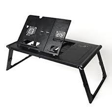 amazon com ivation multi angle adjustable folding smart table