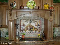 Stone Tile Kitchen Backsplash by Mosaic Backsplash Tumbled Stone Backsplash With Mosaic Tile