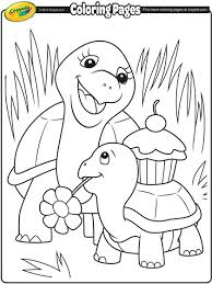 d day coloring pages turtle mommy coloring page crayola com