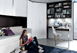 Contemporary Teenager Bedroom Design Ideas By Misura Emme Home - Teenager bedroom design