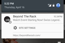 push notifications android your favorite websites can now send notifications to chrome on