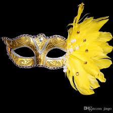 authentic venetian masks masquerade mask christmas colored feather mask birthday