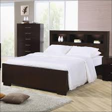 Headboard Nightstand Attached Bedroom Awesome Floating Queen Headboard With Integrated