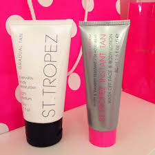 Best St Tropez Tan Blonde Happiness St Tropez Spray Tan Review Before After