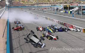 formula 4 crash skip barber 2k world cup phoenix oval arjan de vreede wins