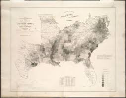United States Map 1860 by Map Showing The Distribution Of The Slave Population Of The