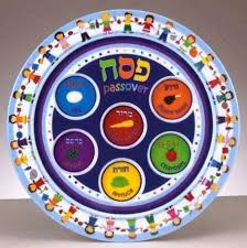 seder for children children s melamine seder plate