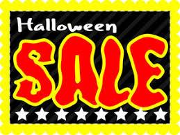 Halloween Sale Halloween Sale Decorative Background Royalty Free Stock Image