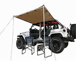 4x4 Side Awnings For Sale Amazon Com Tentproinc Car Side Awning Tent Designed For Jeep