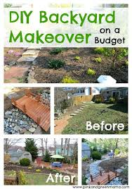 Backyard Improvement Ideas Backyard Makeover Ideas Pictures Inexpensive Backyard Makeover