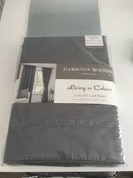 Grey Faux Suede Curtains Brand New Grey Faux Suede Curtains 46x72