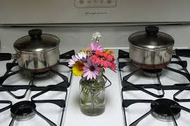 Small Stoves For Small Kitchens by Small Kitchen Solution Cover The Stove Top For More Counter Space
