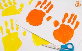 lion mask for kids handprint and paper plate lion masks kids craft room