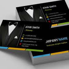 Lawyers Business Cards Attorney Lawyer Consultant Tuxedo Businessman Suit Business Card