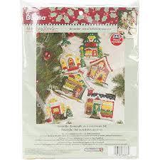buy bucilla engelbreit ornaments counted cross stitch kit