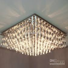 Chandelier Ceiling Lights Discount Modern Luxury Plastic Ceiling L Chandelier Living Room