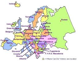 a map of europe with countries map of europe quiz blank physical map of europe with rivers map of