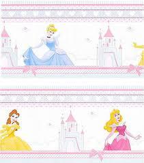 Girls Disney Princess Bedroom Border From The Fairytale Range At - Kids room wallpaper borders