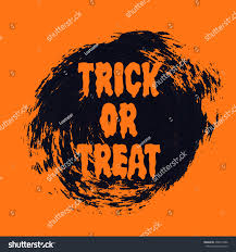 halloween party invitation background halloween sign text over brush paint stock vector 492019306