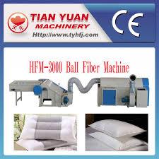 china polyester ball fiber pillow filling machine hfm 3000