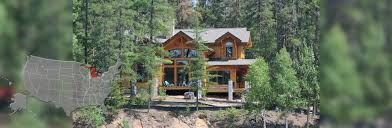 michigan timber and log homes by precisioncraft