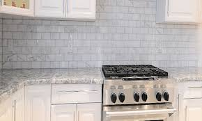 blue gray kitchens smart mosaic tiles kitchen faucet trends