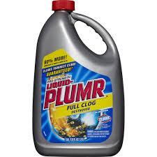 liquid plumr clogged bathtub bath tub