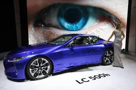 lexus lc500h fuel economy lexus lc 500h hybrid awaits admirers to flock
