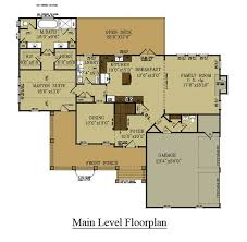 open floor plan farmhouse 4 bedroom farmhouse floor plan master bedroom on level