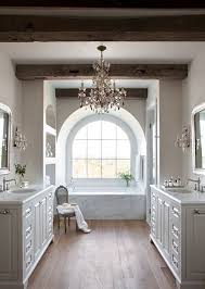 Bathrooms Witney Bathroom Lovely Country Bathroom With Beams And Mirrors Design