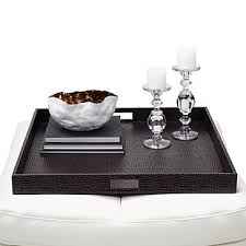 everglades large square tray brown bar tables u0026 trays